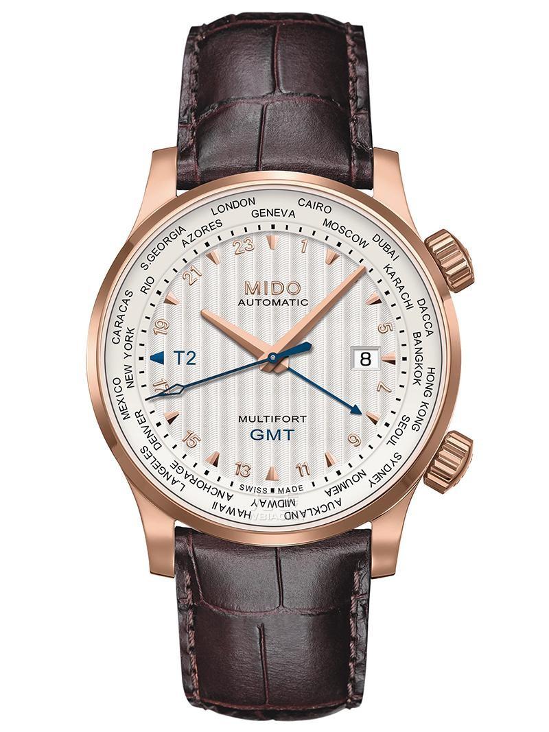 美度舵手系列世界时腕表