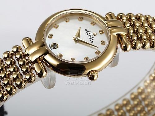 法国精致腕表品牌:赫柏林-Perles 珍珠系列 16873/BP59 女士石英表