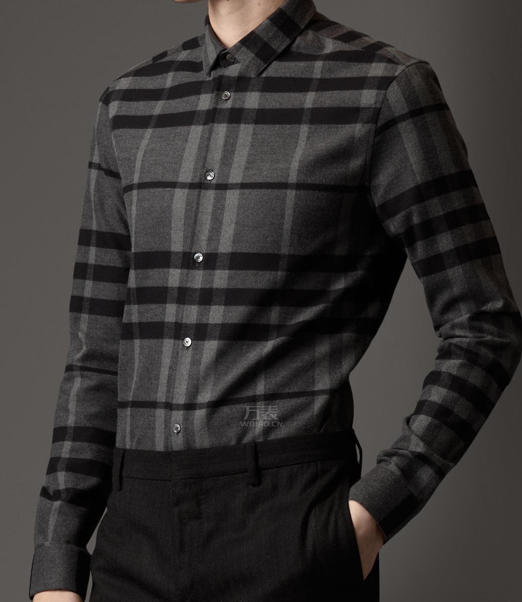 巴宝莉男装衬衫【组图】成功男士最爱Burberry
