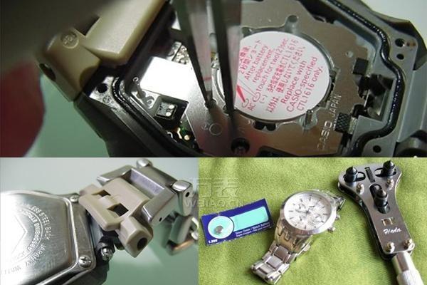 卡西欧手表换电池教程 自己动手更换卡西欧手表电池