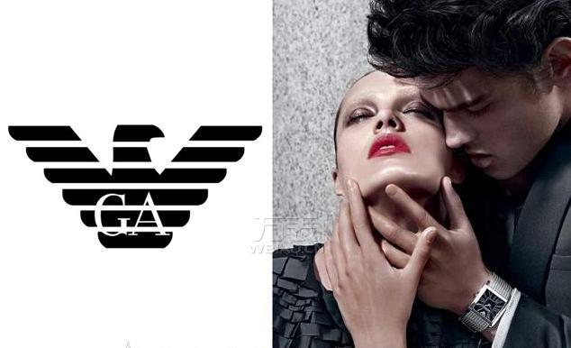 阿玛尼标志设计理念,阿玛尼logo内涵,阿玛尼标志图片