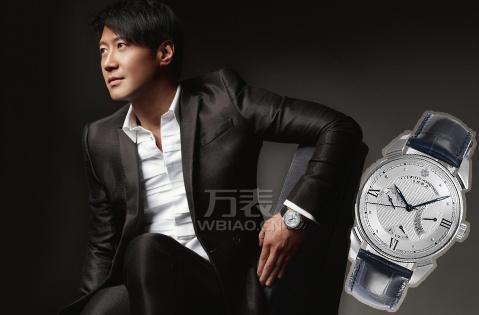 万表网独代品牌腕表为乐坛巨星黎明搭出独特天王范