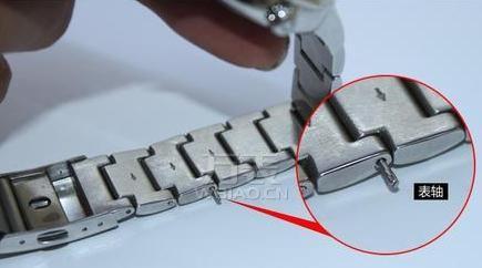 卡西欧怎么拆表链?卡西欧钢带表表链拆卸超详细图解