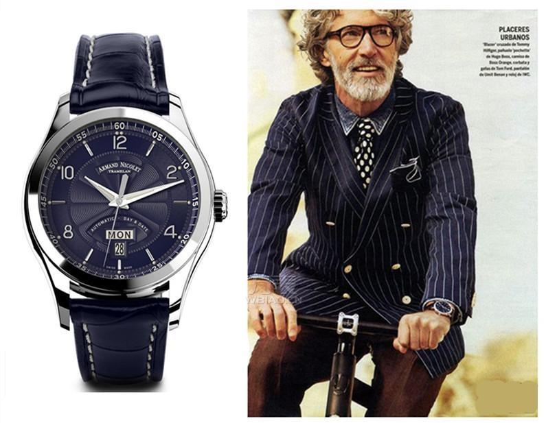 2015年情人节送男友什么礼物?送手表,呈现熟男腕上搭配之道