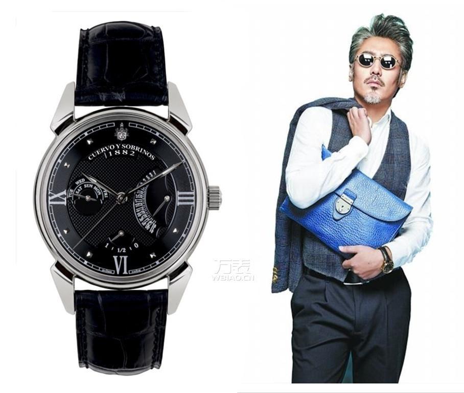 律师戴什么手表?与库尔沃携手体验另类的律师风情