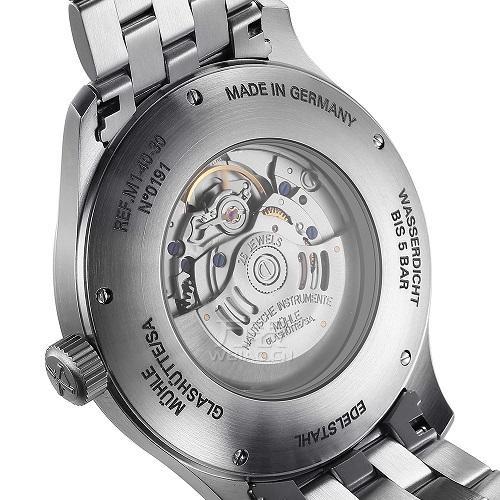德国机械表怎么样?万表网格拉苏蒂·莫勒之腕表时计