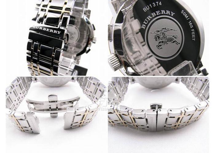 巴宝莉(Burberry)手表使用说明书——BU1374计时型手表