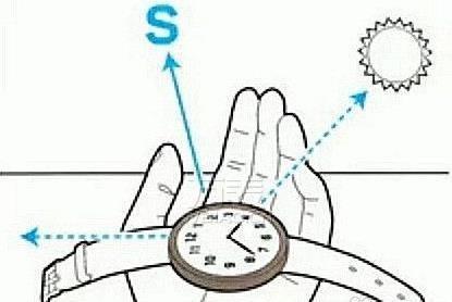 怎么用手表看方向?野外求生秘籍教你用手表辨认东南西北