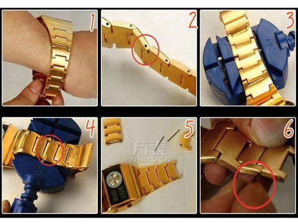 手表拆带器怎么用?为爱表调长短,带出最舒适