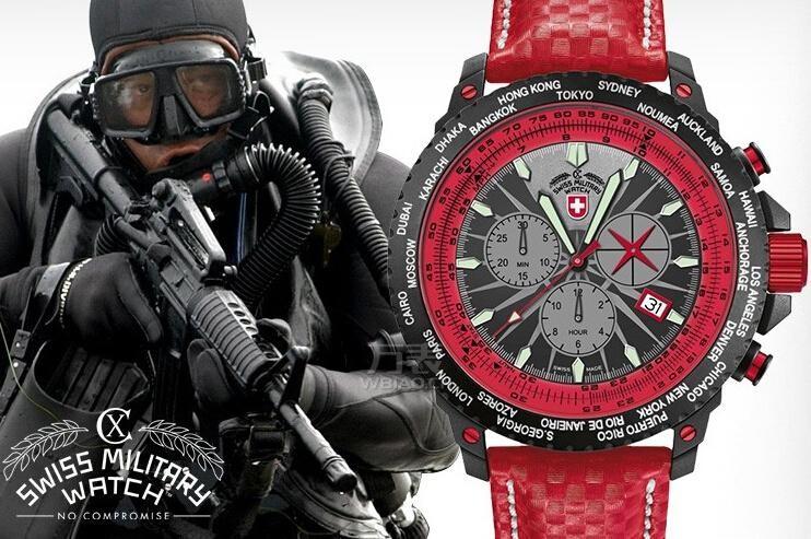 最实用的手表有哪些?极具视觉冲击力的红色