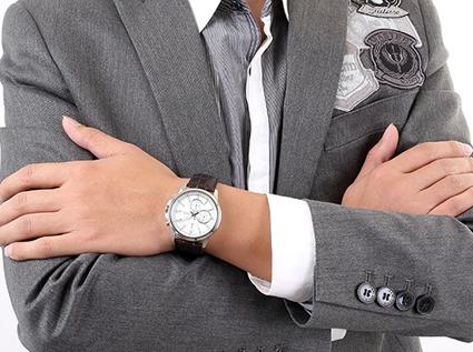 """休闲男士手表,拥""""戴""""手表自由飞翔"""