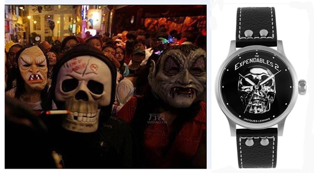 万圣节戴什么手表?与万表网一起上演腕上惊魂记