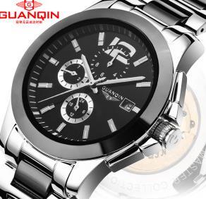 冠琴正品男士手表——严格质检,塑造男士魅力形象