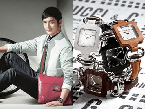 gucci手表时尚男人杂志——引领时代潮流