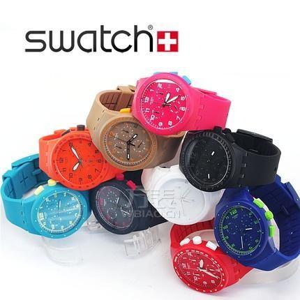 斯沃琪手表质量怎么样?炫彩外表展现花样风骚