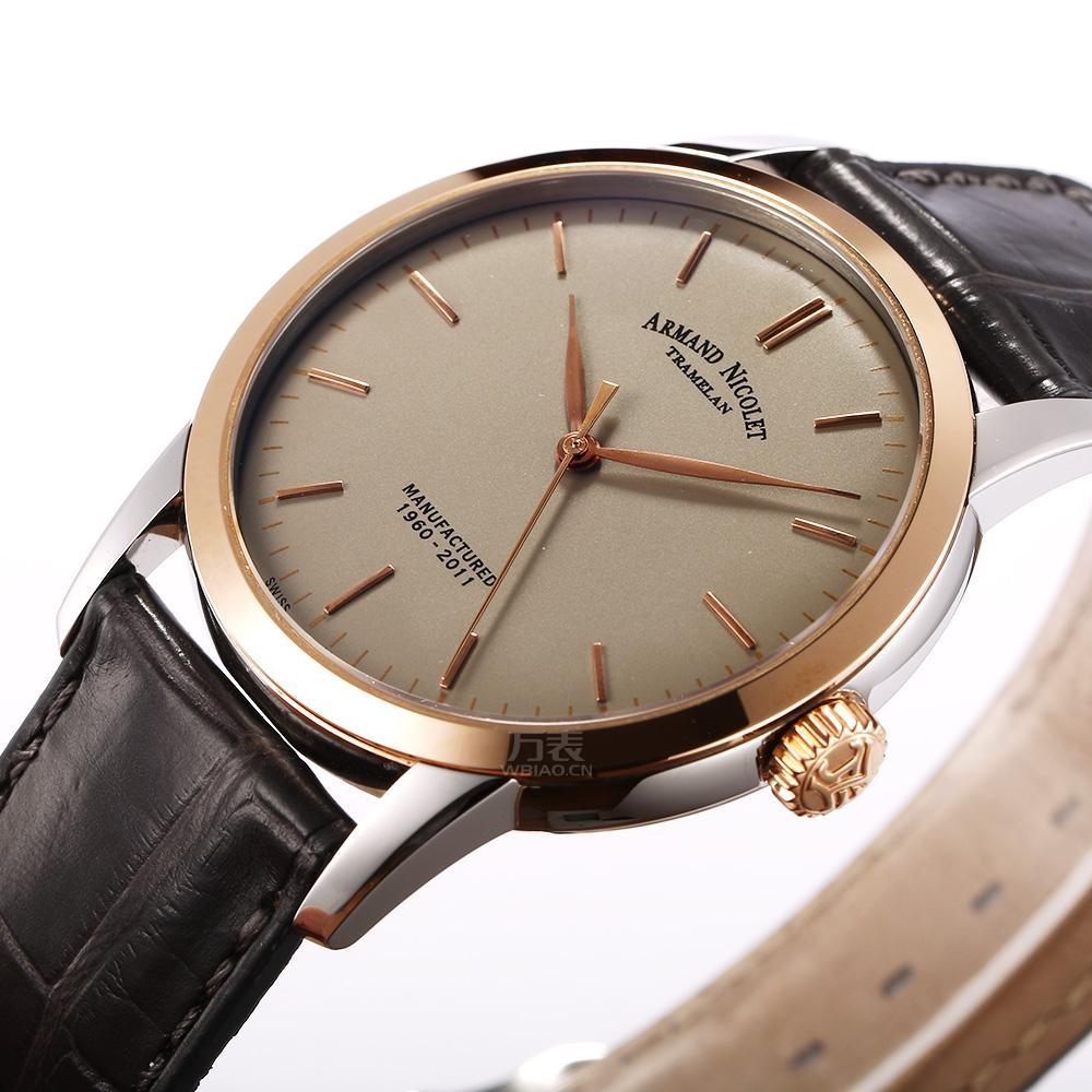 腕上成熟体验,瑞士艾美达告诉你男士什么手表大气