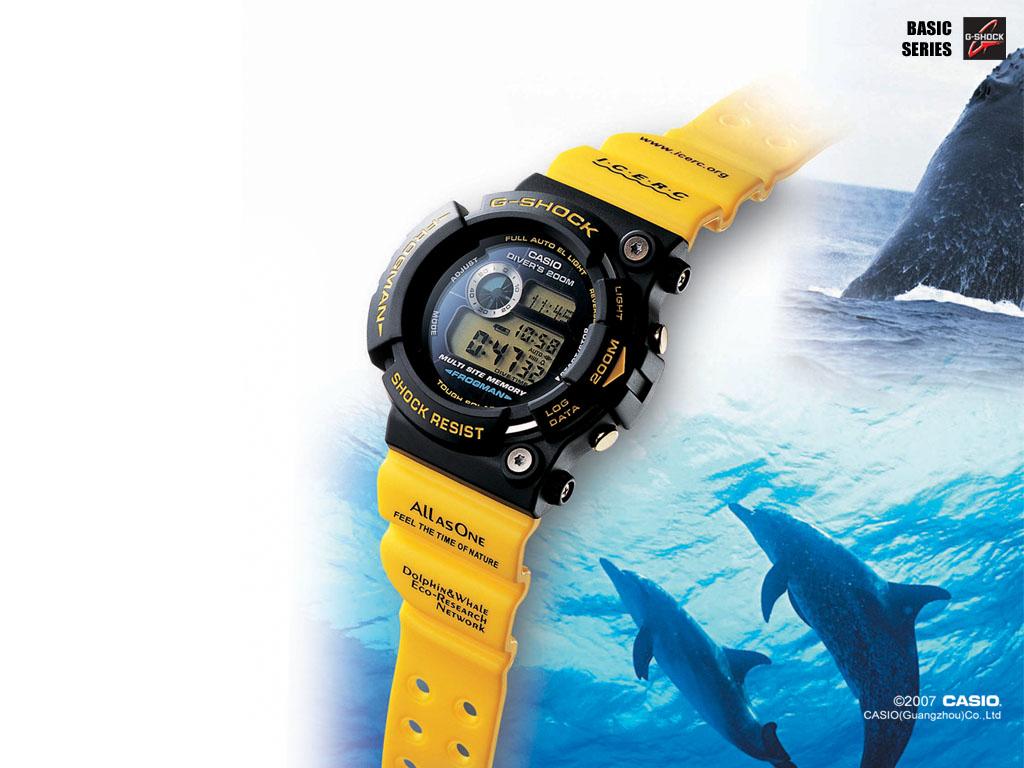 日本名牌手表——卡西欧