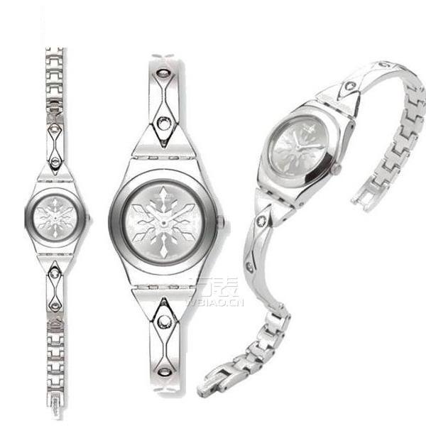 方寸之间的女性柔美婉约,斯沃琪手链式手表完美呈现