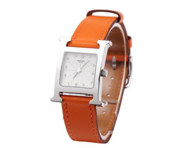 爱马仕真皮手表款式多样化,渲染皮革野性魅力