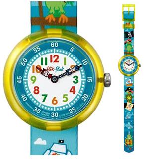 斯沃琪(Swatch)手表儿童表海盗船长