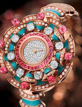 送女生的手表,宝格丽DIVA高级珠宝腕表系列