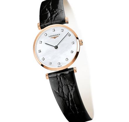 盘点浪琴女士皮带手表价格,呈现女性腕上典雅大气