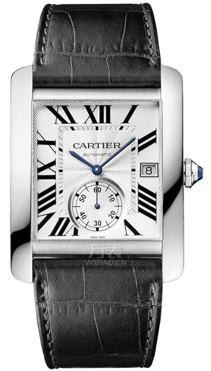 卡地亚方盘皮带手表,方寸之间彰显魅力范儿