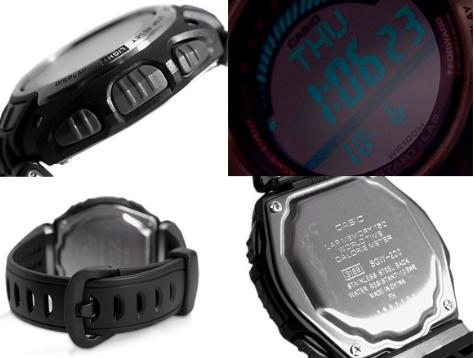 """卡西欧计步手表,运动必不可少的""""附件选择"""""""
