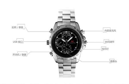 新潮录像手表,走在数码产品前沿