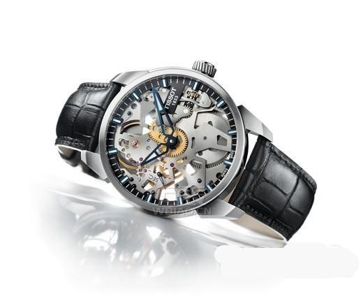 时计冠军——天梭镂空机械表,古典而不失现代感的体验