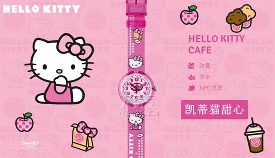 """斯沃琪卡通手表:专为儿童打造的""""萌尚守时器"""""""