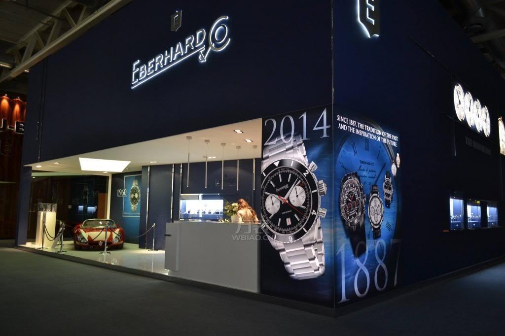 万表网2014巴塞尔世界钟表展—依百克年度腕表探索