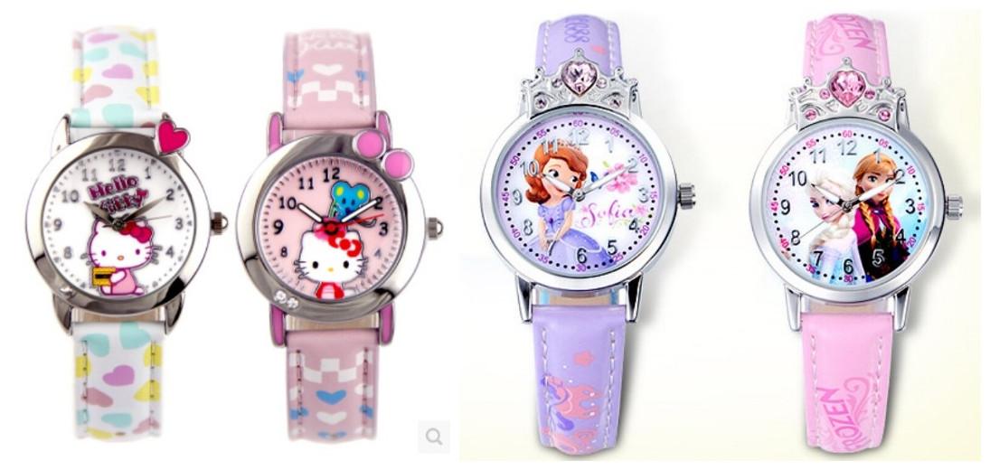 用缤纷的儿童手表点缀孩子美好的童年