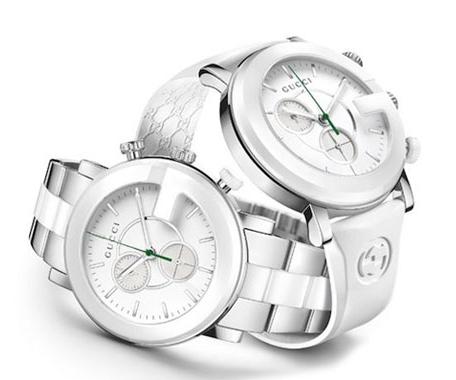 Gucci陶瓷手表,古驰表陶瓷工艺下的细腻时计