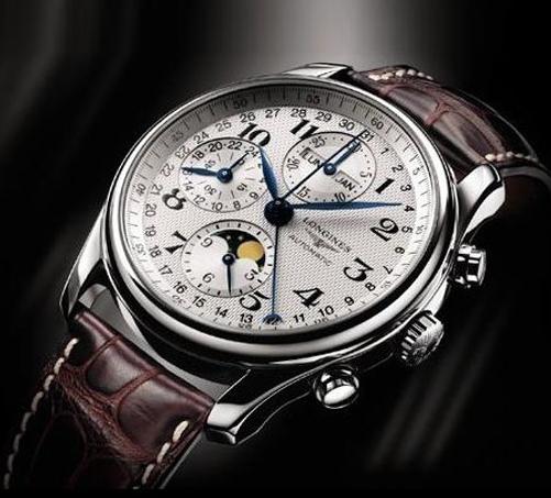 浪琴6针机械手表,精湛工艺的代表