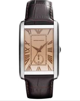 阿玛尼手表质量怎样——看手表品牌的定位: