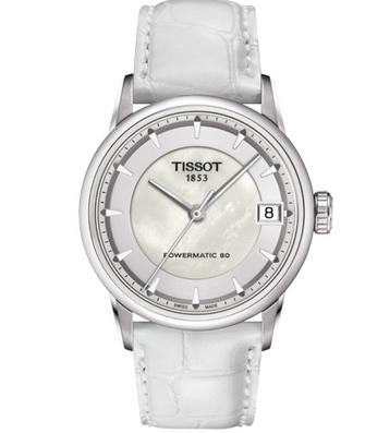天梭女士皮带手表,展现女士优雅魅力