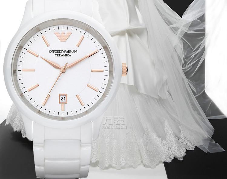 阿玛尼女装陶瓷手表,漫步于阿玛尼手表浪漫的意式潮流