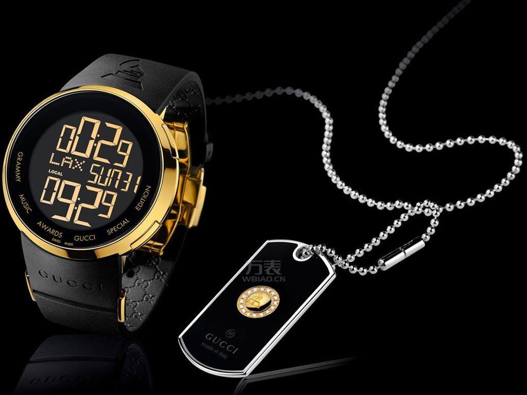Gucci电子手表,时尚新选择