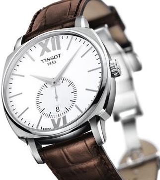 天梭小表盘:感受小表盘腕表的无尽魅力
