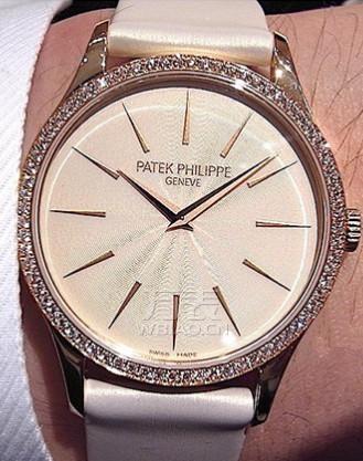 腕上魅力绽放:百达翡丽玫瑰金镶钻手表推荐