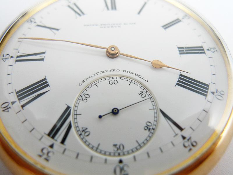 百达翡丽怀表系列——天文台刚德罗系列怀表(ChronometroGondolo)