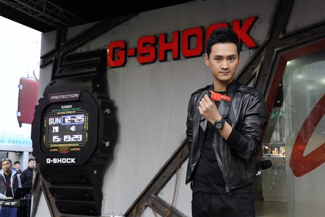 gshock手表shockresist系列 青春一族的腕中之宝
