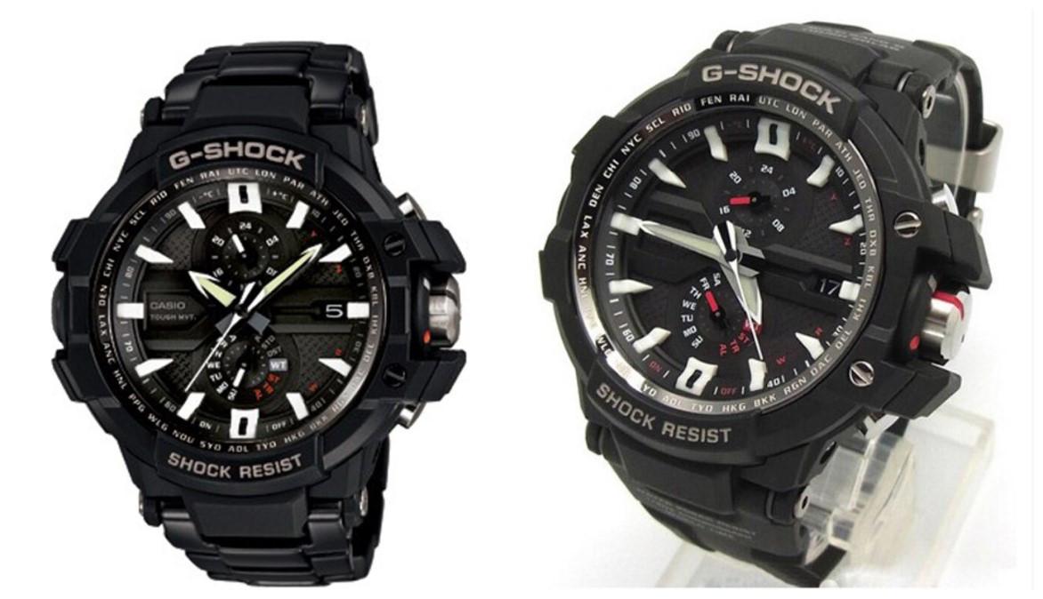 卡西欧手表系列介绍,了解G-SHOCK系列的高科技时尚