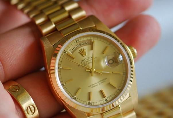 Rolex劳力士24k金表,重金打造的尊贵与荣耀典范