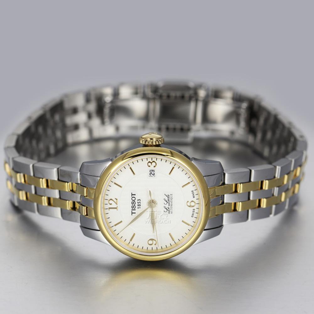 天梭力洛克系列手表:最具天梭风格的表款,展现优雅设计
