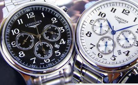 浪琴名匠6针自动机械表,完美展现优雅绅士风范