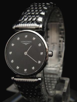 【浪琴嘉岚】三款浪琴嘉岚黑面石英腕表,掌握嘉岚系列优雅气质