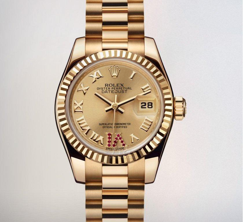 劳力士女装日志型179178腕表:手腕上的高雅气质与独特功能