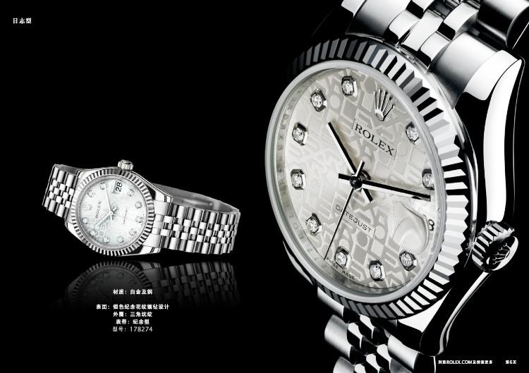 劳力士表背有什么字母或图案?劳力士手表背部透明吗?